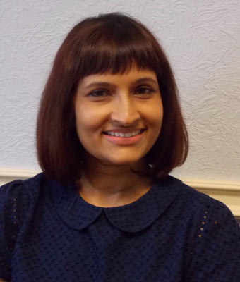 Jayshree Dave Receptionist and Dental Nurse Southside Dental Practice Southsea